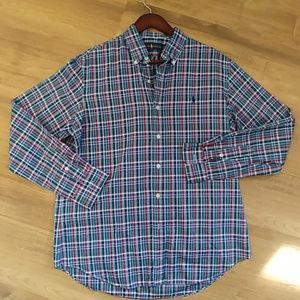 Men's POLO RALPH LAUREN Plaid Button Down Shirt